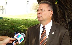 Ex presidente cameral, José Aponte. (Foto / Cybernews)