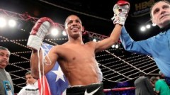 Verdejo, fue el primer boxeador boricua en pelear en el Radio City Hall de Nueva York. (Foto/Suministrada)