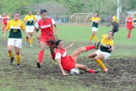 Las campeonas defensoras, Jerezanas de la UPR de Río Piedras, ganaron 2-1 a las Tigresas de la INTER su pase a la final. (Foto/Suministrada)