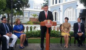 Alejandro García Padilla, gobernador de Puerto Rico. (Foto/CyberNews)