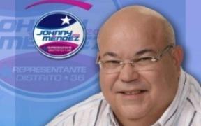 "Representante penepé, Carlos ""Johnny"" Méndez. (Foto/Suministrada)"