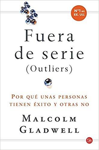 "Libro ""Fuera de serie"" de Malcolm Gladwell"