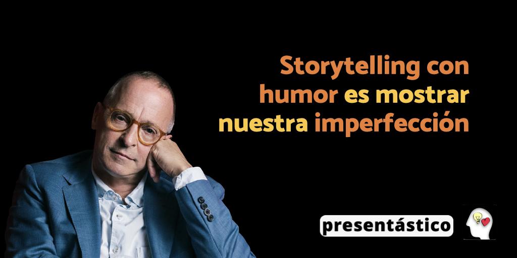 EP 82 Storytelling con humor es mostrar nuestra imperfección