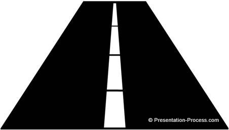 Base Road Graphic
