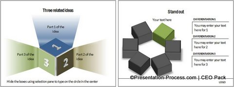Box Shape PowerPoint from CEO Pack