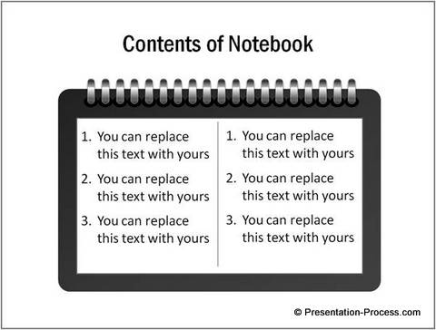 Notepad Template from CEO pack 2