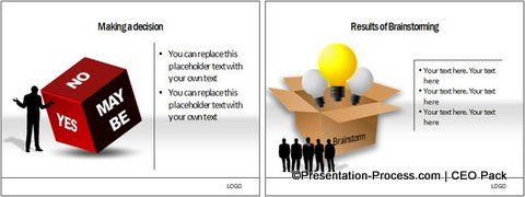 Cube Diagrams from PowerPoint CEO Pack