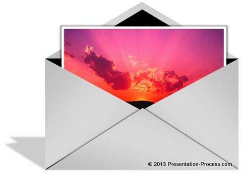 Envelope in PowerPoint