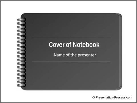 Notebook Cover Template from CEO Pack 2