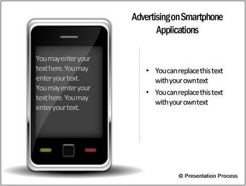 Smart phone diagram template