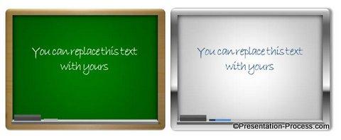 Whiteboard in PowerPoint