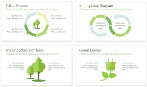 Sustainability PowerPoint Template  PresentationDeck