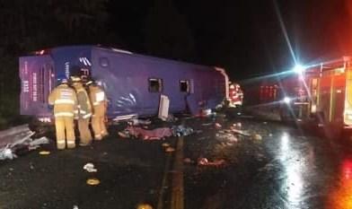 Accidente en la México-Toluca a la altura de La Marquesa, deja 10 muertos y 27 heridos