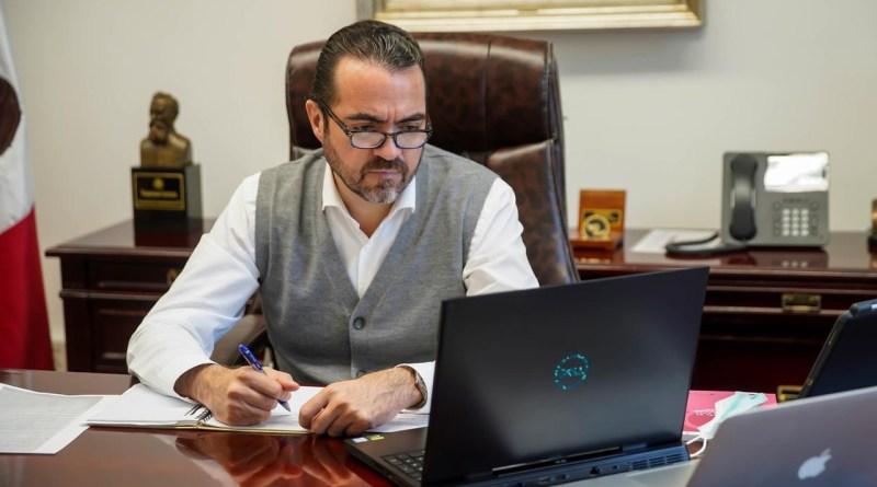 Coordinan trabajo Gobierno del Estado e INE para garantizar elecciones con medidas de salud estrictas