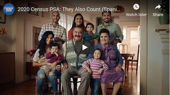 Ve el video oficial del Censo en español