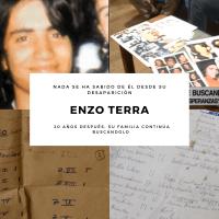 Enzo Terra - El joven que desapareció en su propia casa