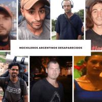 Mochileros argentinos desaparecidos en todo el mundo