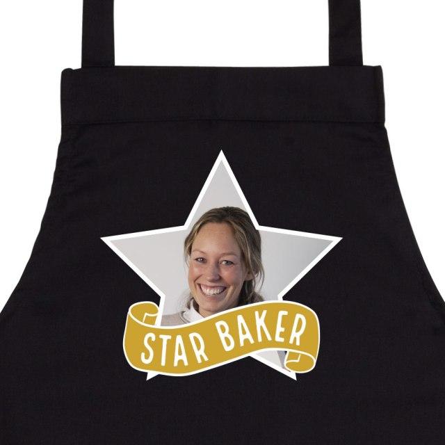 Ditt eget unika köksförkläde med foto och text Image