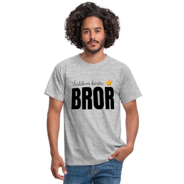T-shirt herr - Världens bästa bror Image