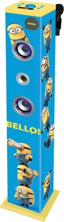Minions Sound Tower Bluetooth Med Mikrofon Image