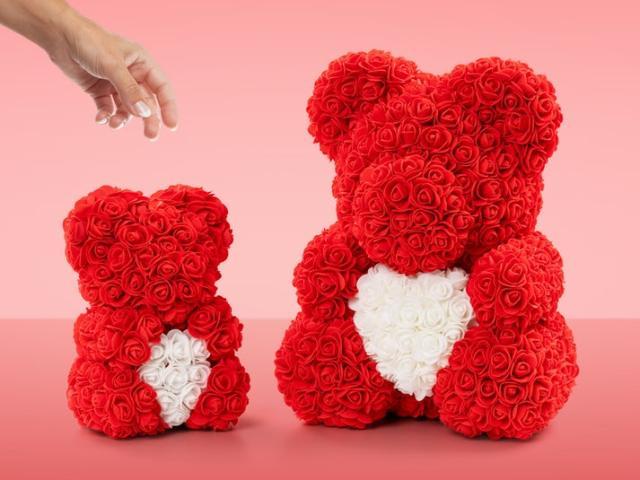 Rose Bear Image