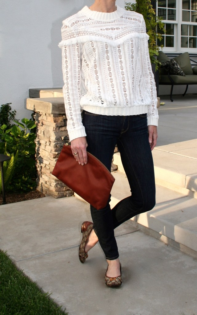 chloe top and jeans