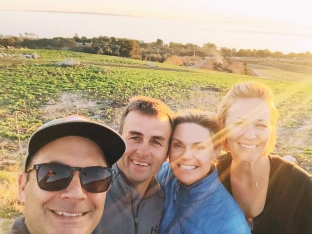 selfie-ocean mesa-hike