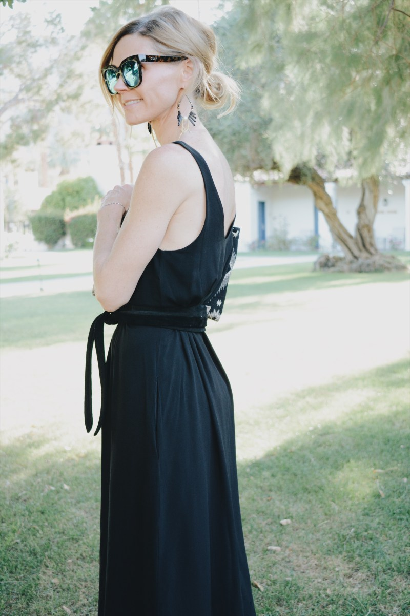 Basic Black Sundress