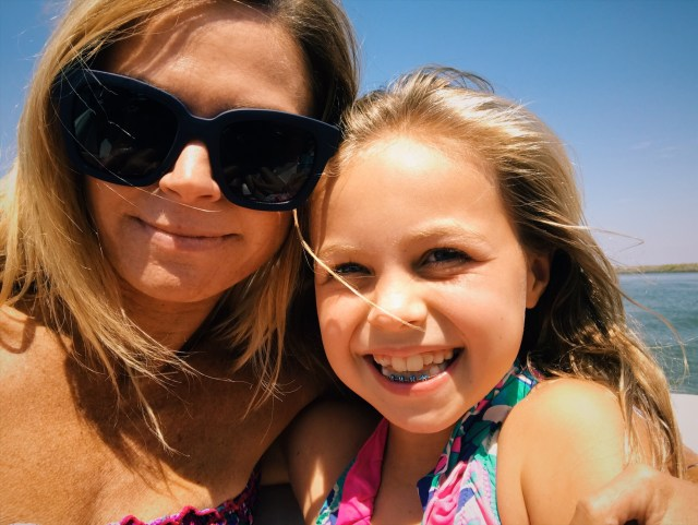 mom and daughter