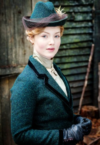 Lady Chatterly's Lover 2015 tweed costume