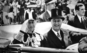 King George VI and President Roosevelt