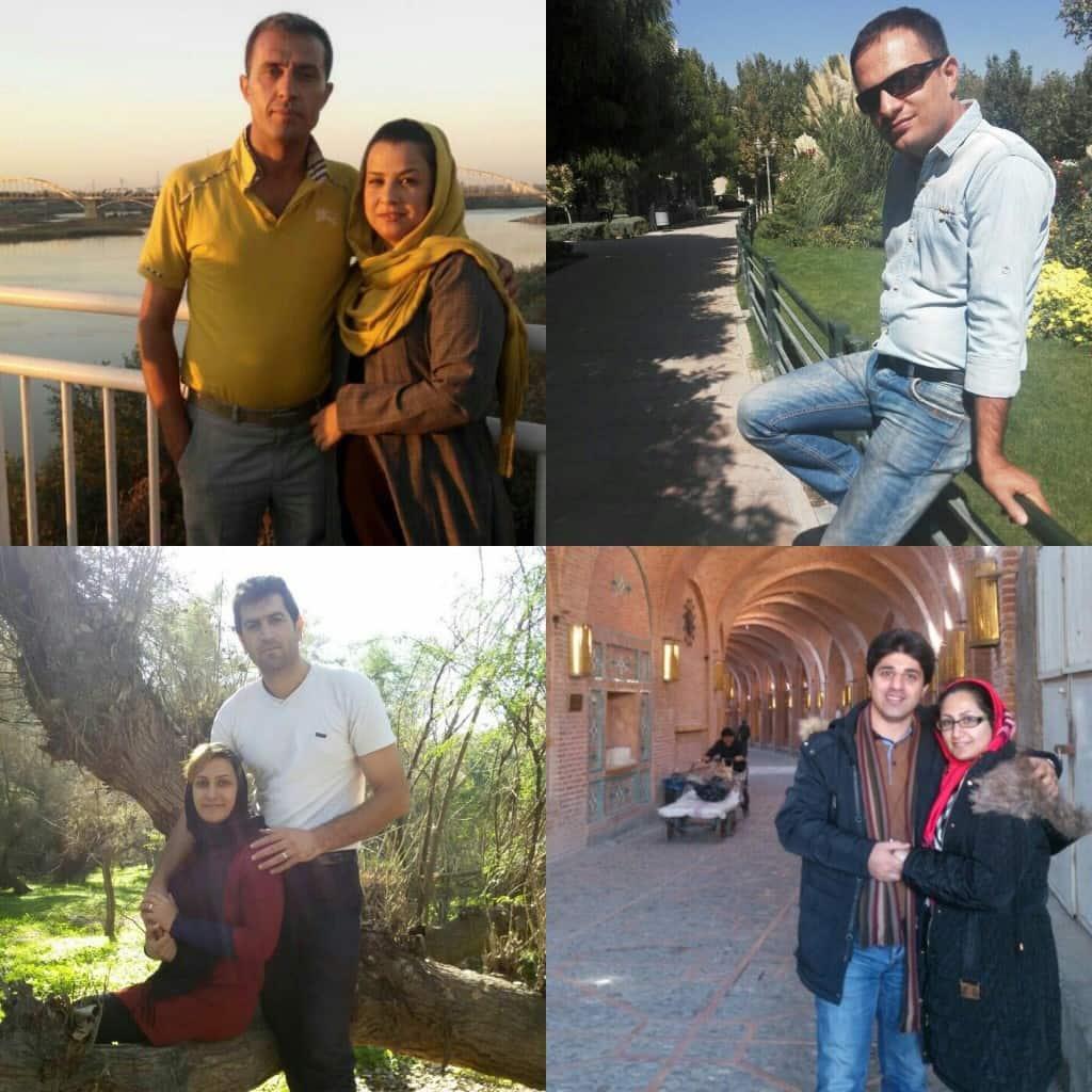 TL: Rahman Bahmani, TR: Mohammad Bahrami, BL: Daniel (Hossein) Barounzadeh, BR: Amin Khaki