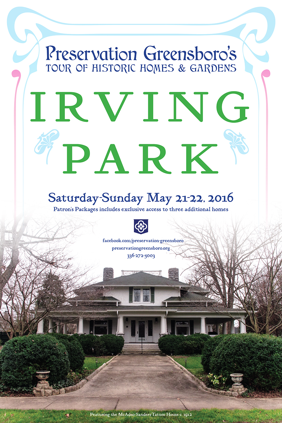 Sixth Annual Tour Of Historic Homes Gardens Old Irving Park