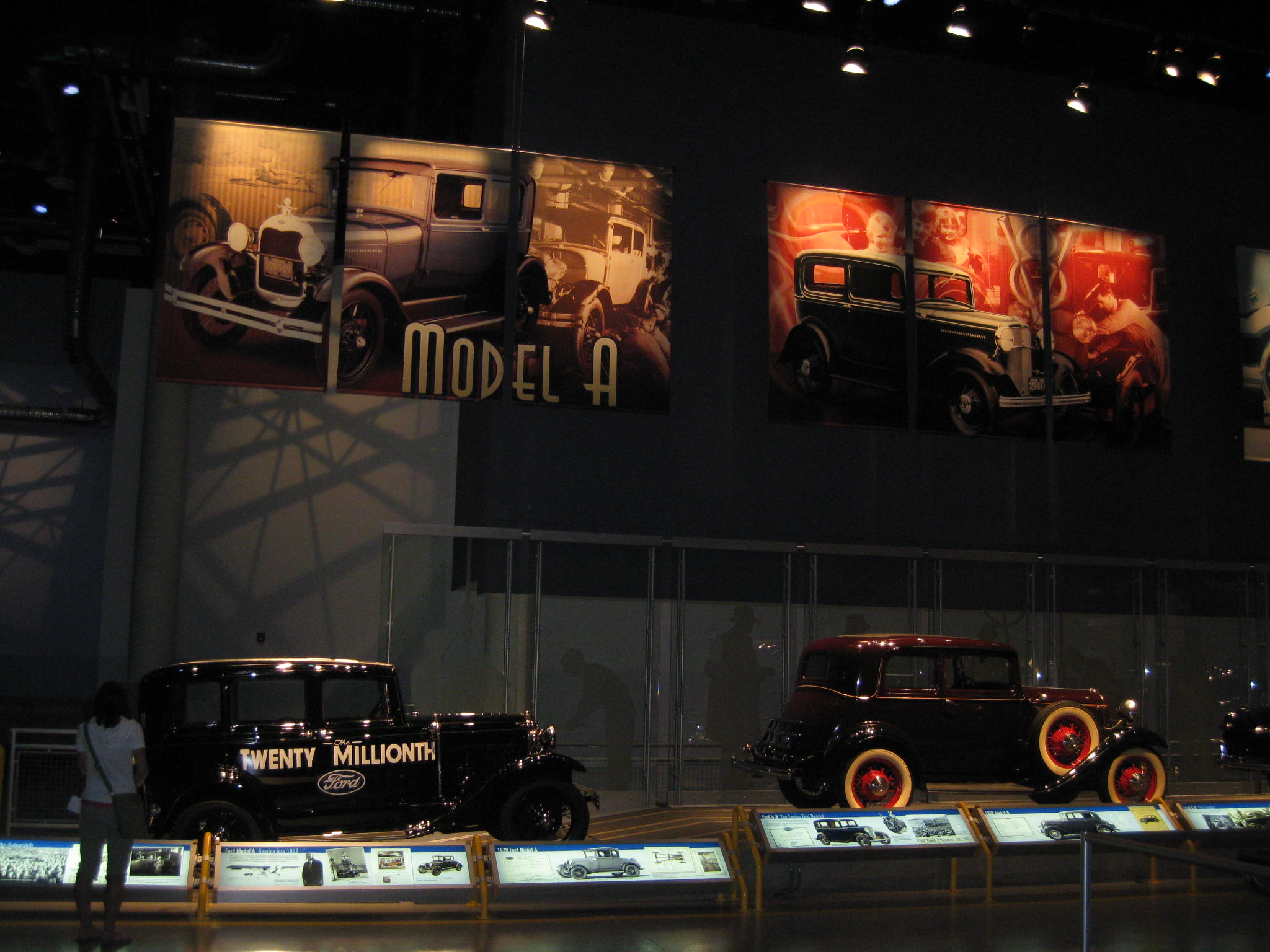 The Legacy Gallery at the Ford Rogue Factory.