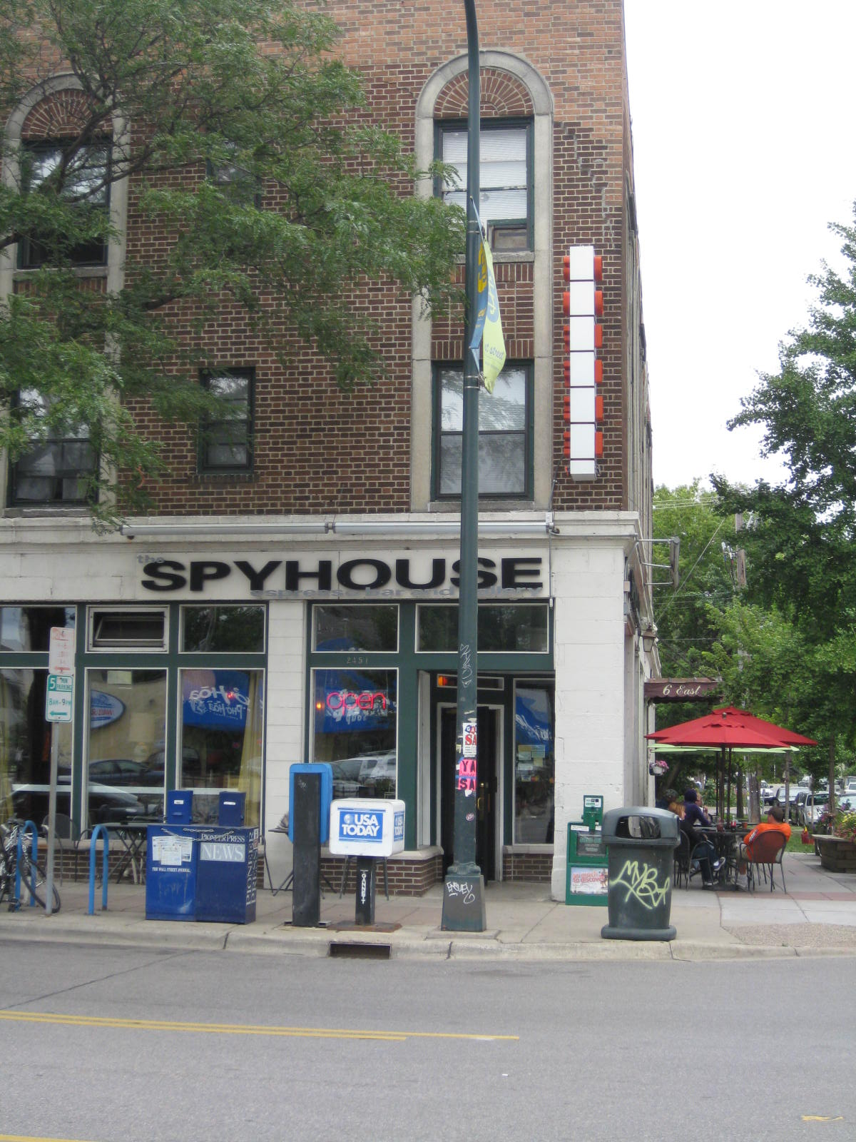 Spyhouse Coffee. Go there when you visit Minneapolis.