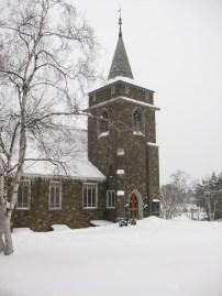 The Adirondack Community Church in Lake Placid, NY.