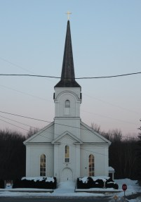 Saint Genevieve Church in Shoreham, VT.