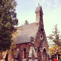 The Chapel in Lakeview Cemetery, Burlington VT.