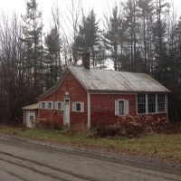 Abandoned Vermont: Dover Schoolhouse