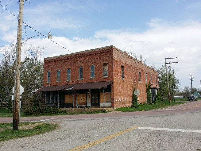 Front of Old General Store Phillipsburg Mo