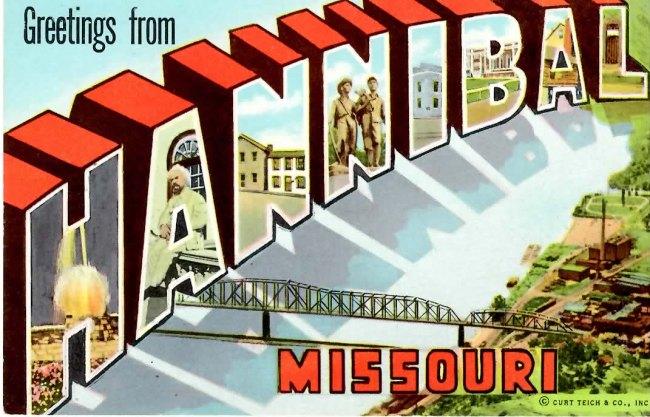 Hannibal Postcard