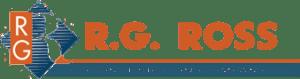 RG Ross construction Company logo