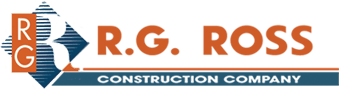 RG Ross construction Company logo