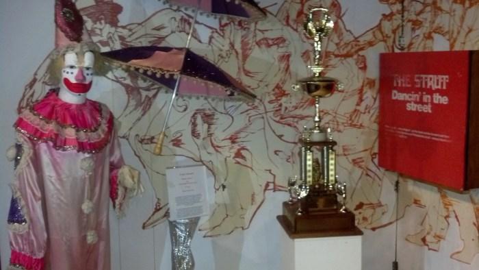 Mummers Museum Display