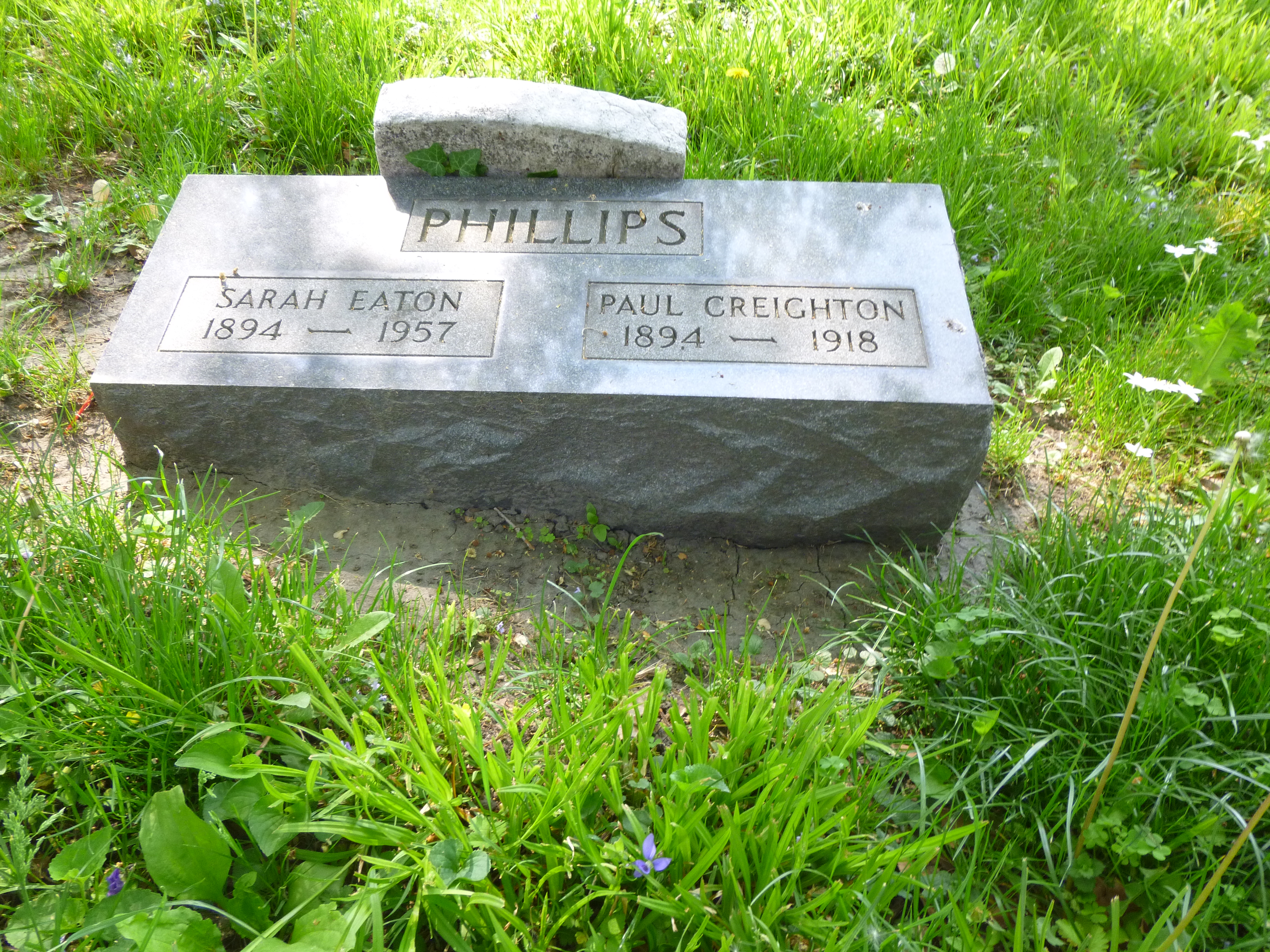 Read more about the article Sarah Eaton Phillips and Paul Creighton Phillips