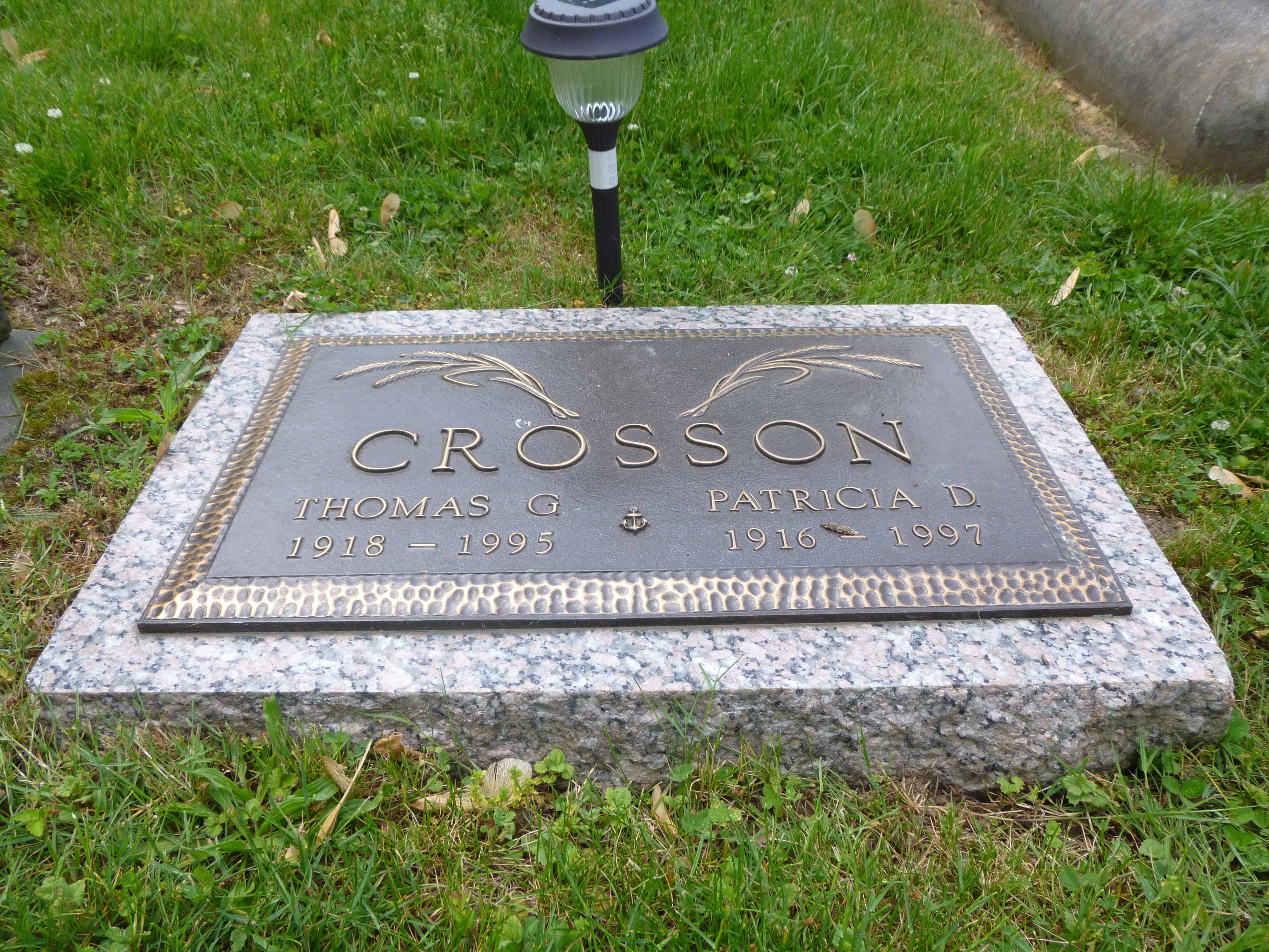 Read more about the article Thomas and Patricia Crosson
