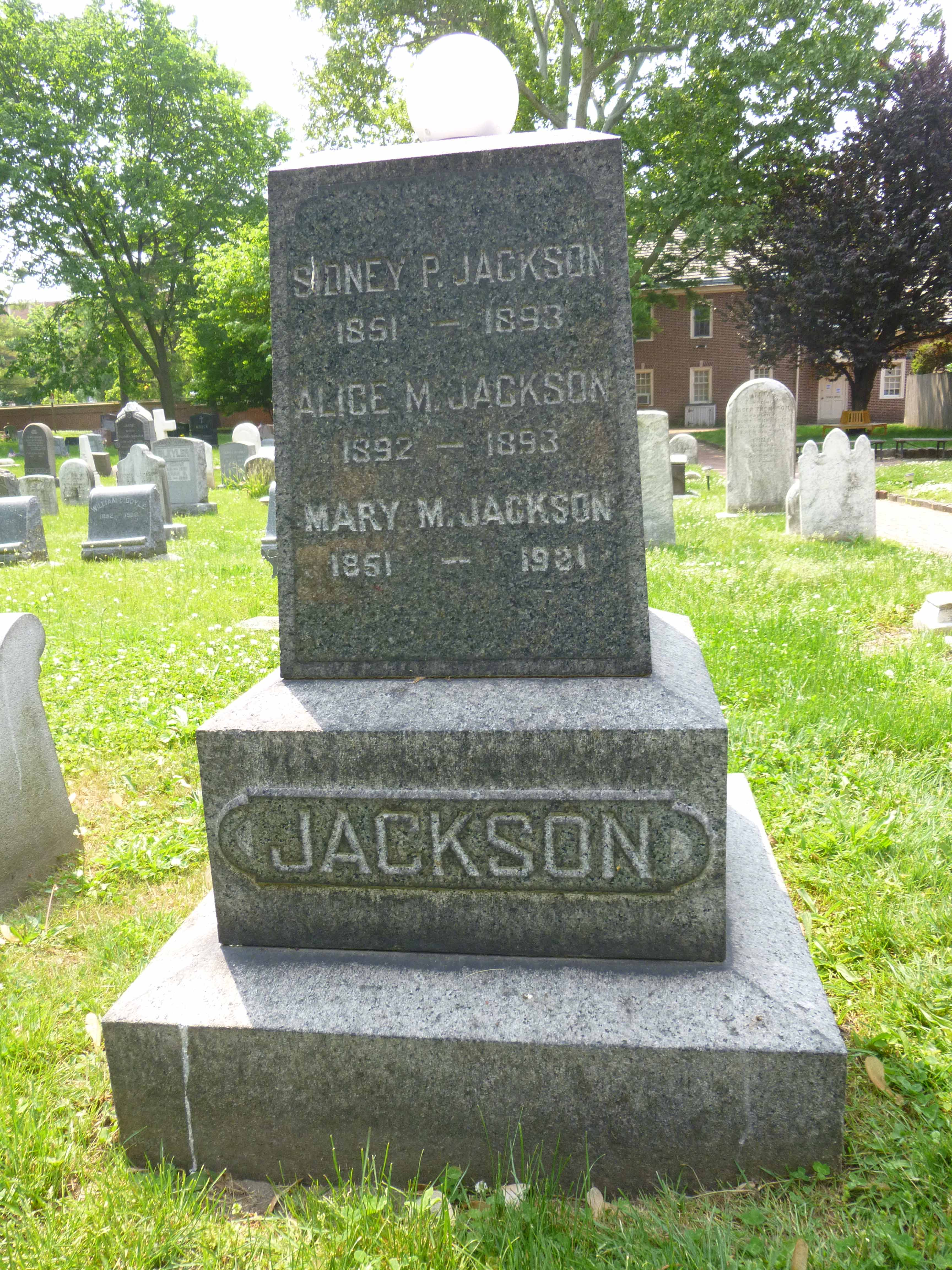 Read more about the article Sidney, Alice and Mary Jackson