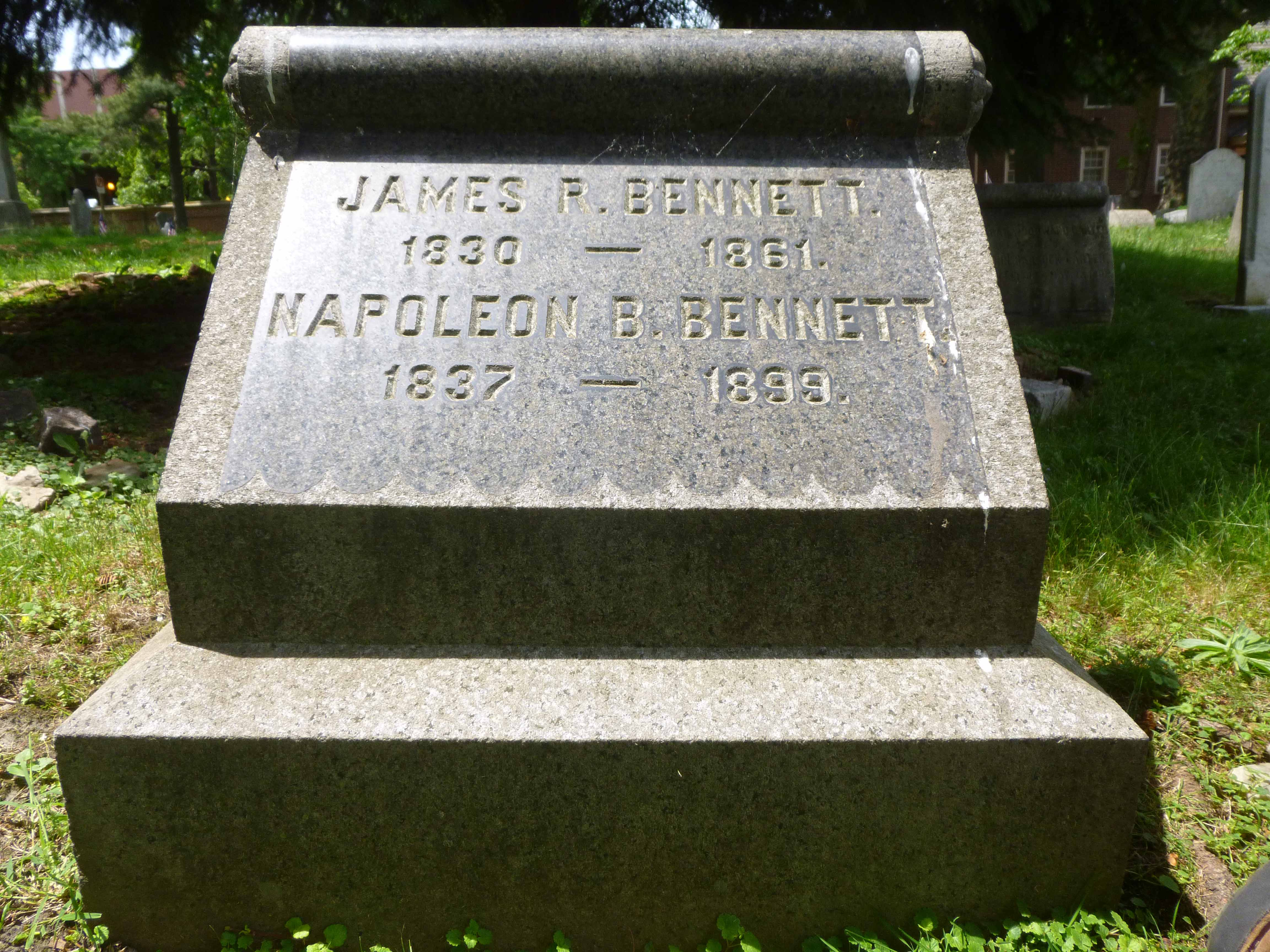 Read more about the article James and Napoleon Bennett