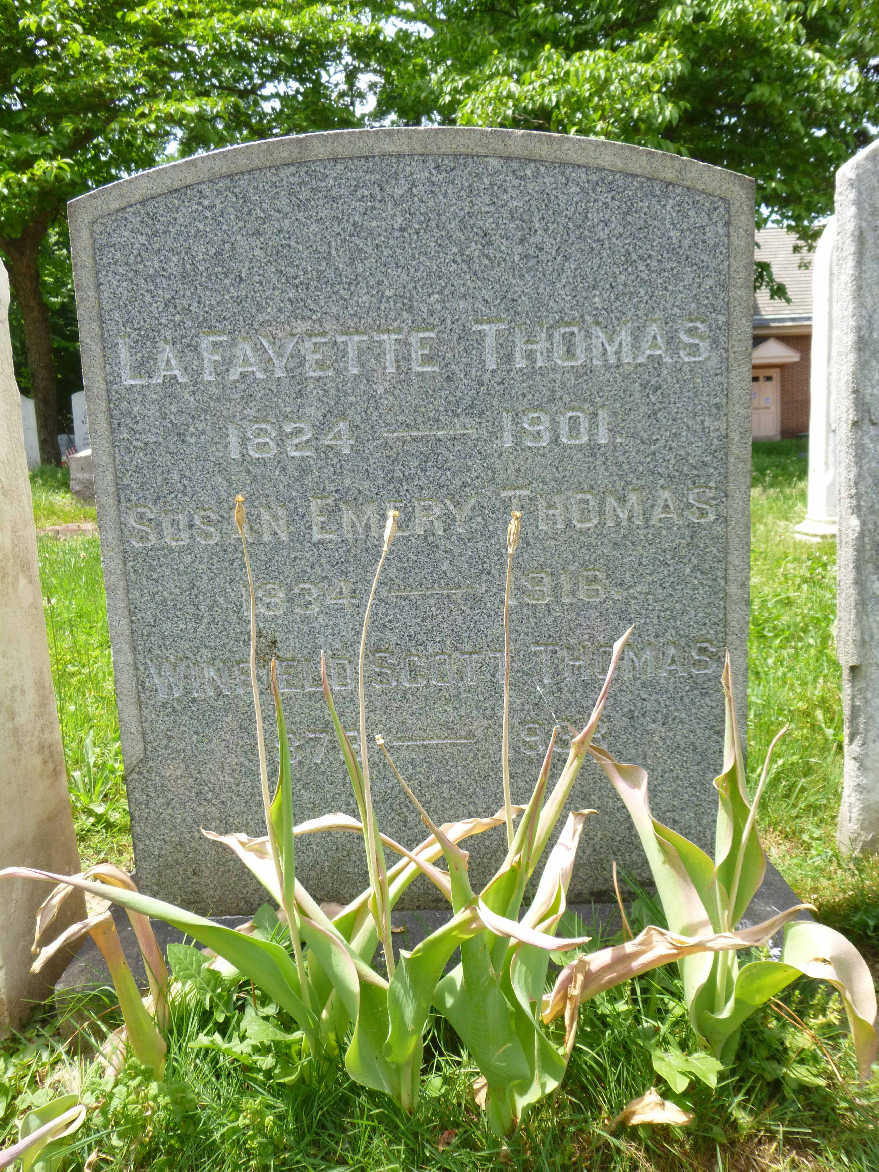 Read more about the article Lafayette, Susan and Winfield Thomas