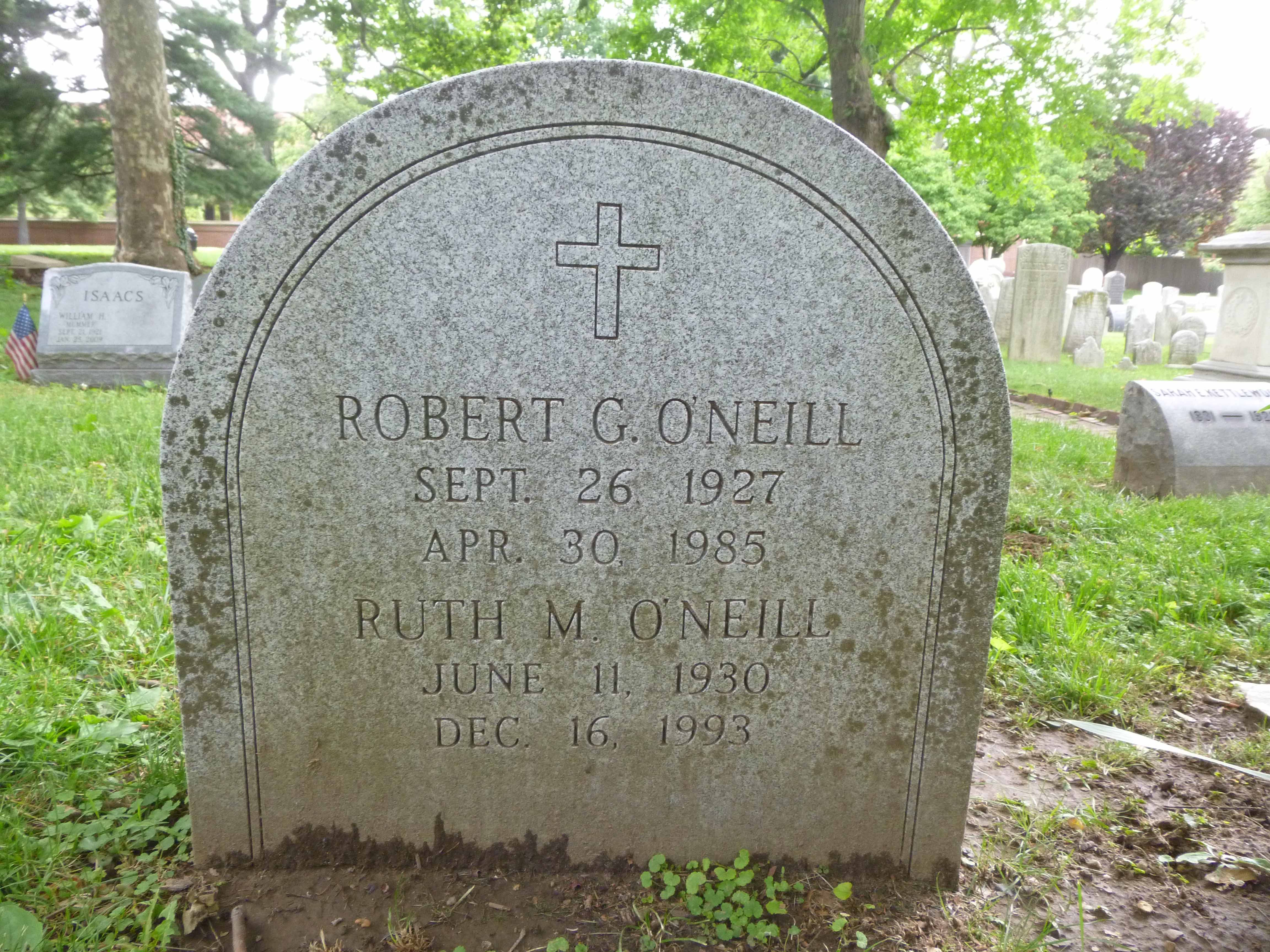 Read more about the article Robert and Ruth O'Neill